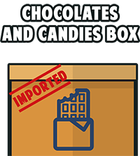 Chocolates and Candies Box