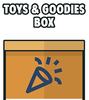 Toys and Goodies Box