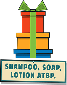Shampoo, Soap, Lotion ATBP
