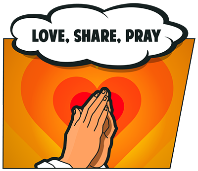 Love, Share and Pray