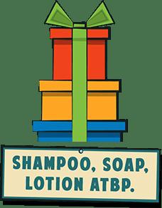 Shampoo, Soap, Lotion ATBP