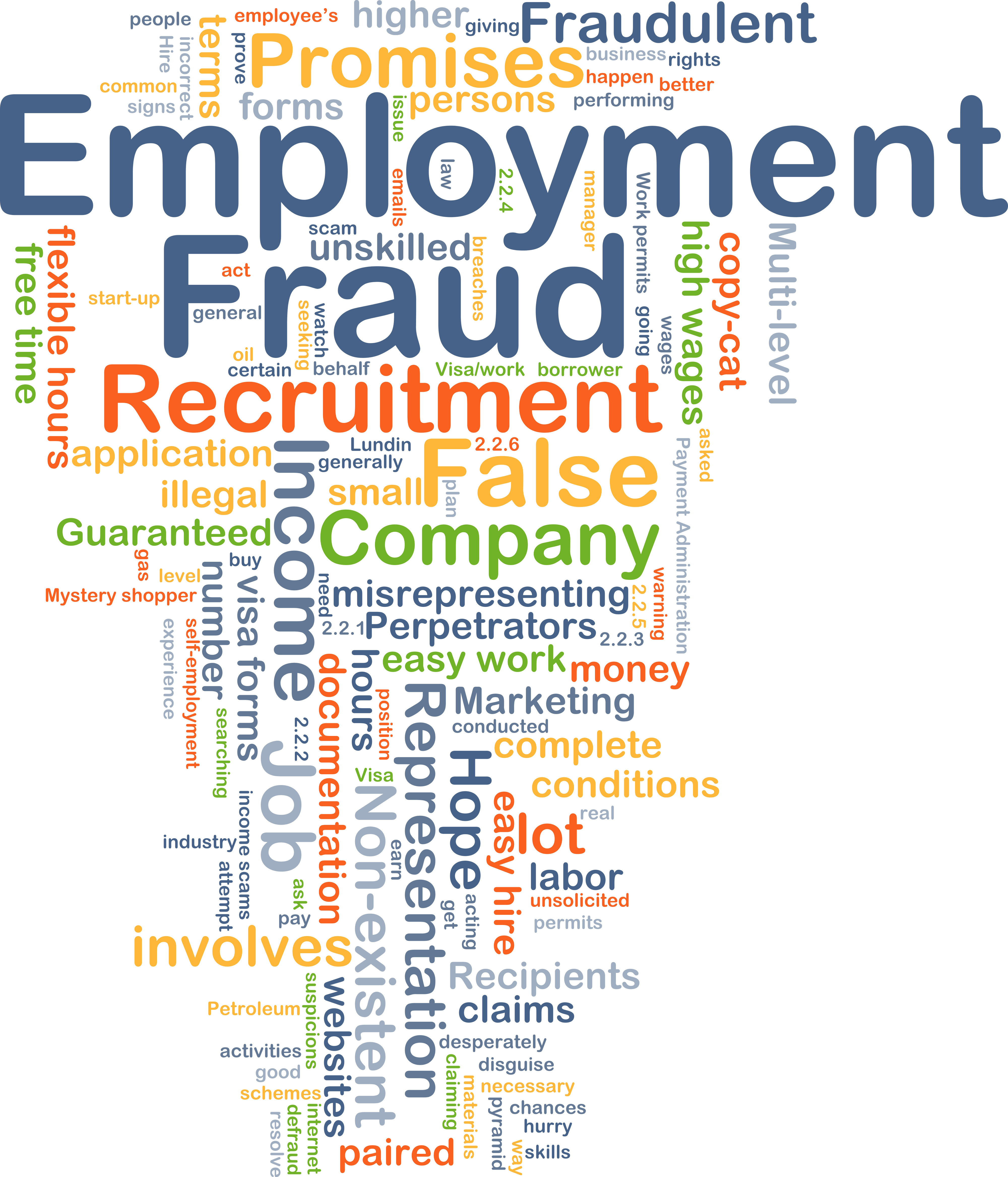 illegal recruitment Illegal recruitment when committed by a syndicate or in large scale shall be considered an offense involving economic sabotage illegal recruitment is deemed committed by a syndicate if carried out by a group of three (3) or more persons conspiring or confederating with one another.