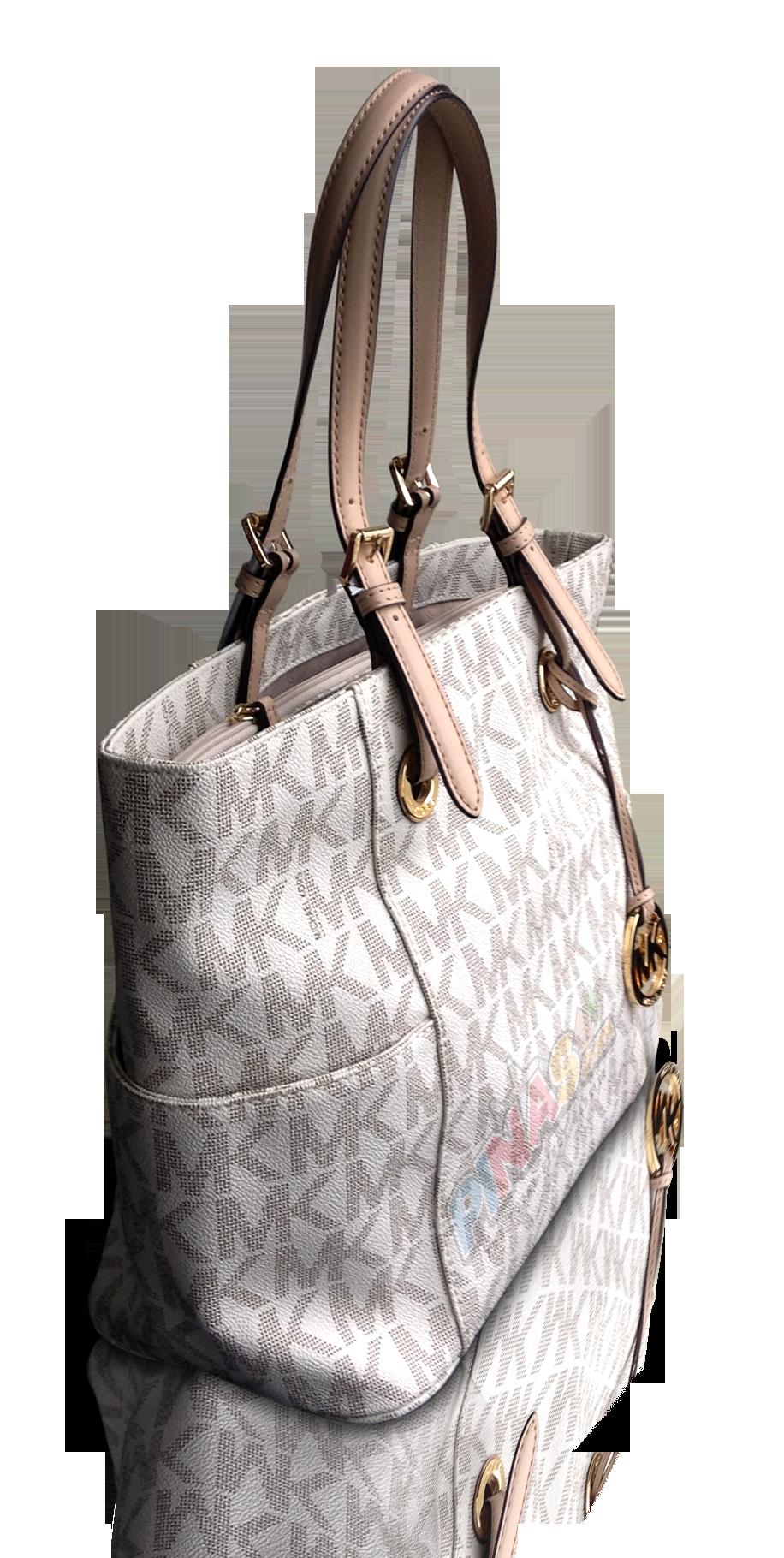 Mk Shoulder Bag White Sideview
