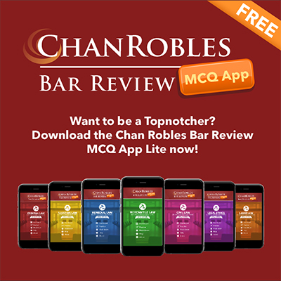ChanRobles Bar Review MCQ App
