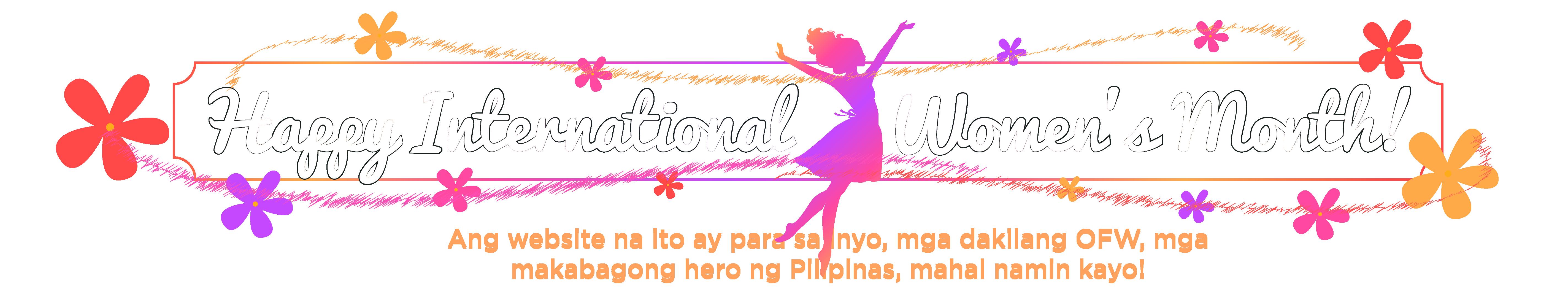 Welcome, Kabayan! Ang website na ito ay para sa inyo, mga dakilang OFW, mga makabagong hero ng Pilipinas, mahal namin kayo!
