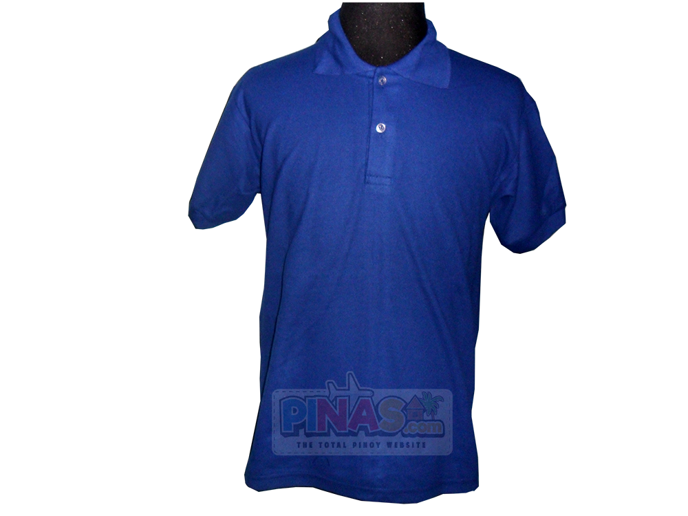 Zubica Men 39 S Royal Blue Collared Shirt Pinas